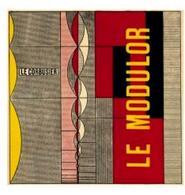 Le Corbusier, copertina de  Le Modulor, 1950. Fonte: wikipedia