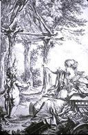 Marc Antoine Laugier,  Allegoria dell'architettura (1753). Fonte:  Associazione Culturale Larici