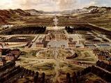 La Reggia di Versailles al 1662. Fonte wikipedia.