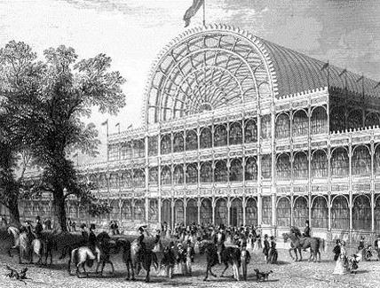 La città postindustriale: il Crystal  Palace a Londra. Fonte: wikipedia