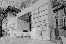 Le Corbusier, Padiglione dell'Esprit Nouveau, Parigi, 1925. Tratta da: politecnico di Torino