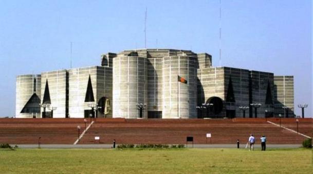 Louis Kahn, Parlamento del Bangladesh, 1962-1974. Tratta da: wikipedia.