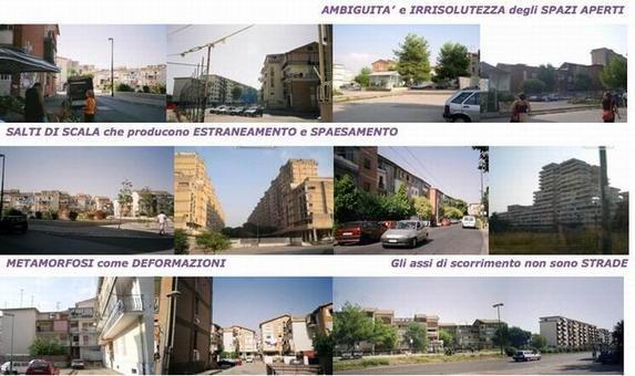 """L'elaborato è stato prodotto durante il Workshop internazionale """"Progettazione architettonica per il Recupero urbano"""" tenutosi a Napoli nell'ottobre del 2004, dal gruppo di progettazione composto da A. Carullo, V. Merla, M. G. Pirri, M. Striano, F. Tallini; docente: A. F. Mariniello; assistenti: C. Bozzaotra, D. Lettieri, A. Micillo, R. Novello."""