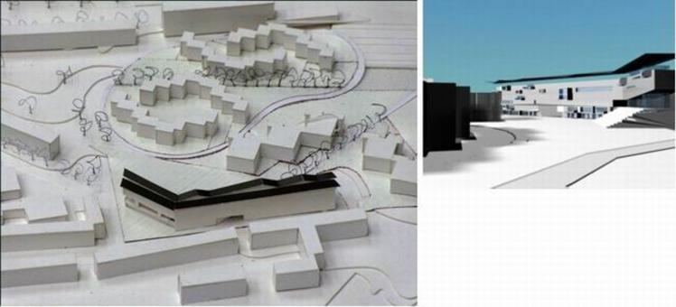 """Gli elaborati sono stati prodotti durante il Workshop internazionale """"Progettazione architettonica per il Recupero urbano"""" tenutosi a Napoli nell'ottobre del 2004, dal gruppo di progettazione composto da A. Carullo, V. Merla, M. G. Pirri, M. Striano, F. Tallini; docente: A. F. Mariniello; assistenti: C. Bozzaotra, D. Lettieri, A. Micillo, R. Novello."""