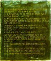 La prima tabula (ricostruzione)