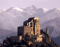 San Michele monastery on Mount Pirchiriano, 983-1622, S.Ambrogio, Turin (Italy) (from ARENGARIO).