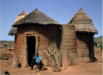 Houses (Togo), (from – © UNESCO / T. Joffroy, CRATerre-EAG).