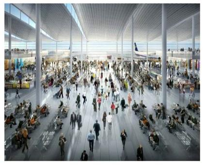 Foster & Partners. Heathrow airport. Photo from Architettura ecosostenibile