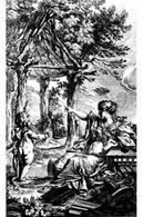 Marc Antoine Laugier Essai sur l'Architecture,  1755 frontespizio.