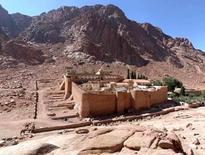 Monastero di Santa Caterina, VI sec., ai piedi del Monte Oreb, Sinai (Egitto). Da:  UNESCO