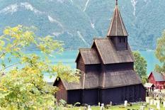 Chiesa in legno celtica-vikinga-romanica, XII-XIII sec., Urnes (Norvegia) (da  – © UNESCO / Vujicic-Lugassy, Vesna)