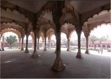 Diwan-i-Am,Forte e Palazzo imperiale, XVI sec., Agra (India) (da  UNESCO )