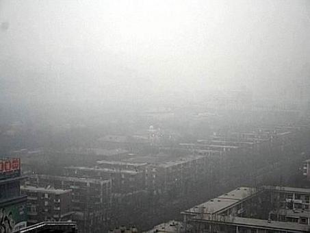 Il cielo a Pechino nel 2008. Fonte: Olimpiadi