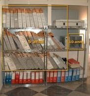 Archivio tradizionale di pellicole e digitalizzato (CD) a confronto