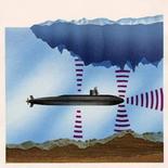 Funzione del SONAR in un sottomarino