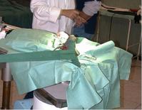 Riduzione e fissazione di un distacco epifisario prossimale della testa del femore