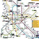 Mappa collegamenti verticali di Modena. Fonte: Comune di Modena