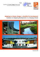 Copertina del South climate change. Fonte: Greater London Authority