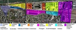 Paris Rive Gauche: articolazione degli interventi. Fonte: Paris Rive Gauche