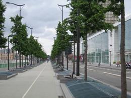 Paris Rive Gauche: strade sulla ferrovia. Foto: Moccia