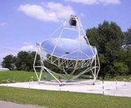 Sistema a disco parabolico (Eurodish) M. Falchetta (curatore). Fonte: Programma Enea sull'energia solare