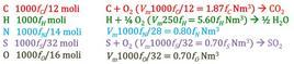 Bilanci stechiometrici sul sistema in esame.