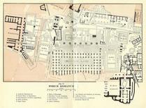 Planimetria del Foro Romano. Fonte: Wikipedia