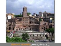 I Mercati Traianei, Roma II d.C