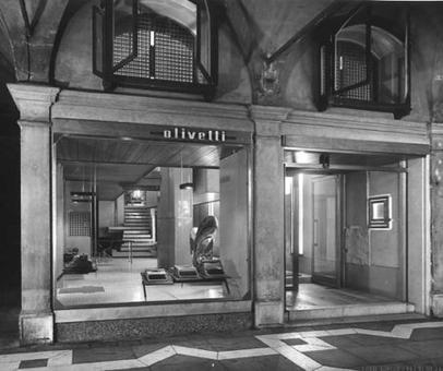 Arch. Carlo Scarpa, Negozio Olivetti a Venezia, 1957-1958