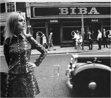Negozio Biba a Kensington Church Street, 1966