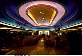 Big Biba 1973, Rainbow Room sala spettacoli e ristorante con 500 posti a sedere