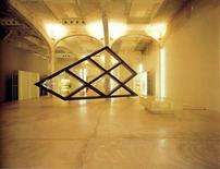 Prada epicentro, Tokyo, 2003, Arch.tti Herzog & De Meuron. Sezione del telaio di facciata. Spazio Prada Milano 2001