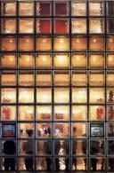 Maison Hermes, Tokyo, 2001, Arch. Renzo Piano. Particolare della facciata in mattoni di vetro