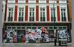 Dover Street Market, Londra, vetrine