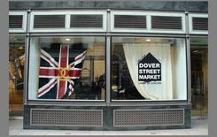Dover Street Market, vetrina