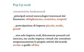 Caratteristiche fondamentali del Pop Up Retail