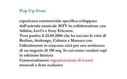 Definizione di Pop Up Store