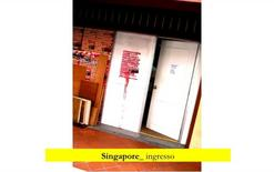 Singapore, ingresso