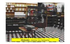 Helsinki, interno con arredi di una ex farmacia