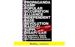 Berlino, manifesto propaganda