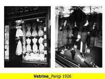 Esempi di vetrine degli anni Venti