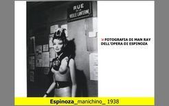 Fotografia di Man Ray dell'opera di Espinoza