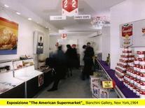 Riproduzione dell'esposizione, The American Supermarket