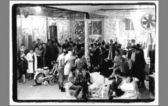 Immagine della Factory di Andy Warhol