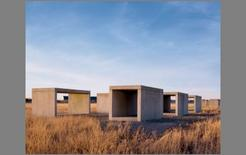 Donald Judd, installazioni a Marfa, Texas