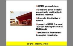 Applicazione e contenuti del manuale di immagine coordinata UPIM