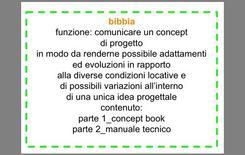 """""""Bibbia"""": termine allusivo con cui si definisce l'insieme della manualistica di progetto"""