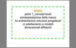 Principali contenuti del Concept Book