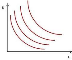 Figura 4.2. Curve di isoquanti