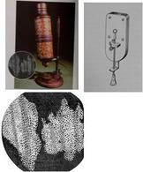 Il microscopio usato da Hook e di van Leewenhoek